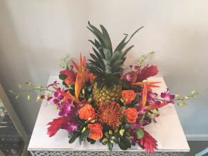 Tropical Fruit Punch Centerpiece - Large in Millstadt, IL | BLISS FLORAL & GIFTS