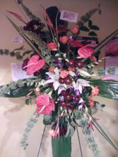 Tropical funeral flowers  Funeral/Sympathy flowers