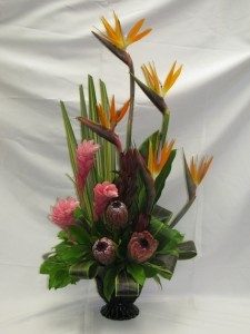 Tropical Galore Funeral Arrangement