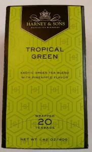 Tropical Green Tea Harney & Sons Tea