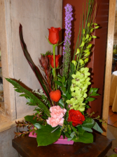 Tropical Heat Container Arrangement