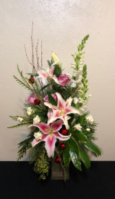 Tropical Holiday Getaway Vase Arrangement