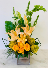 Tropical Honey Floral Design