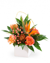 Tropical Horizon Flower Arrangement