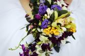 tropical joy bridal bouquet