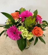 Tropical Love Bouquet Vase Arrangement