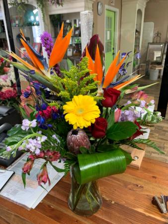 Tropical Love Fresh cut Flowers