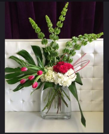 Tropical Love Vase arrangement