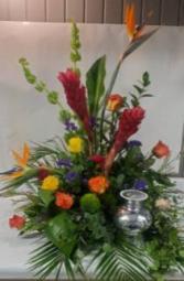 Tropical Memorial Memorial Flowers