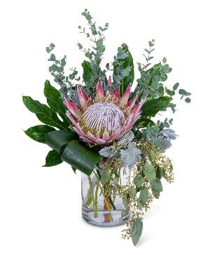 Tropical Naturals Flower Arrangement in Nevada, IA | Flower Bed