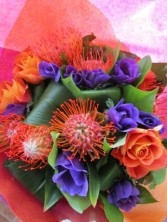 TROPICAL NIGHT Hand-tied Bouquet