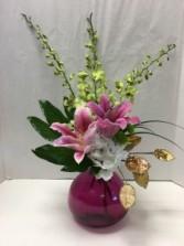 Tropical Noel Flower Arrangement