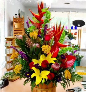 Tropical Paradise Hawaiian Bouquet in Colorado Springs, CO | FLOWERS TO GO