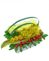 Tropical Pave Flower Arrangement