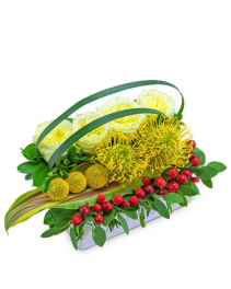Tropical Pave Flower Arrangement
