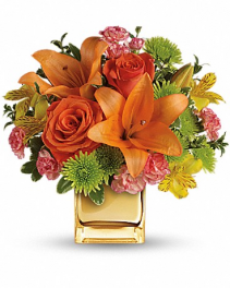 Tropical Punch Flower Arrangement