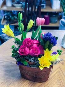Spring Favorites  Spring Floral Arrangement