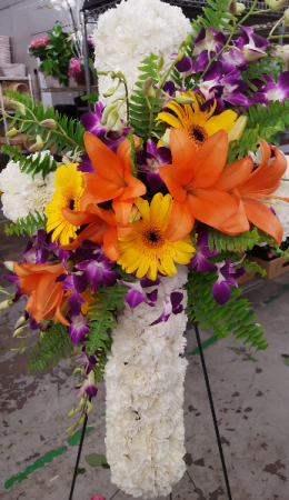 Tropical Sedimants Arrangement in Lexington, NC | RAE'S NORTH POINT FLORIST INC.