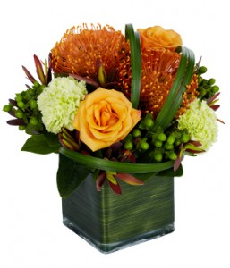 Tropical Sophistication Flower Arrangement in Burbank, CA | MY BELLA FLOWER