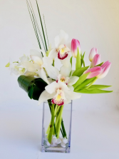 Tropical Spring Vase arrangement