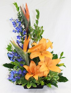 Tropical Spring Fresh Arrangement