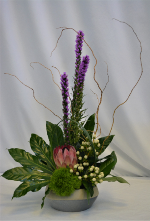 TROPICAL SUMMER FRESH FLOWER ARRANGEMENT