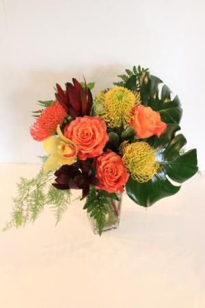 Tropical Fire Floral Design