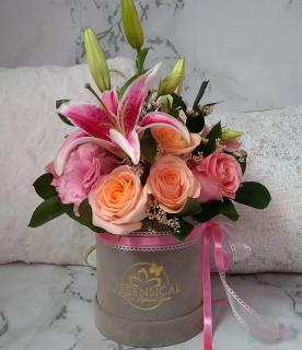 Tropical Touch Lily  in Delray Beach, FL | Greensical Flowers Gifts & Decor