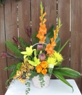 Tropical Tranquility Sympathy Arrangement