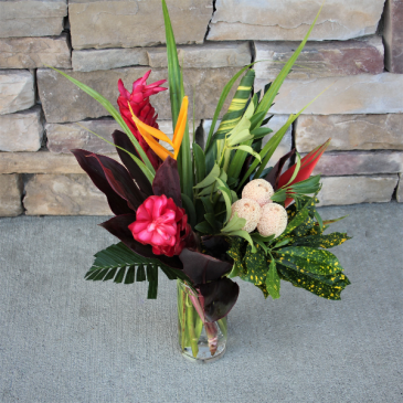 Tropical Treasure Flower Arrangement