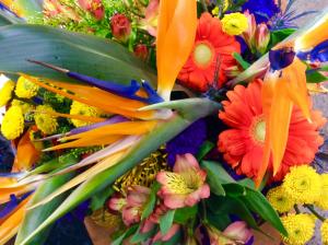 Tropical Treats Bouquet Cut Flower Bouquet in Troy, MI | DELLA'S MAPLE LANE FLORIST