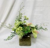Tropical Trend Permanent Arrangement by Inspirations Floral Studio