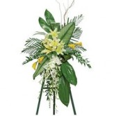 TROPICAL TRIBUTE FUNERAL SPRAY
