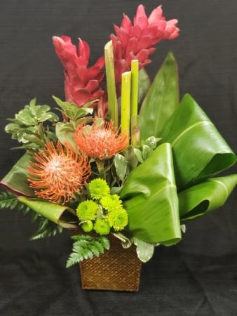 Tropical Valentine Floral Valentines