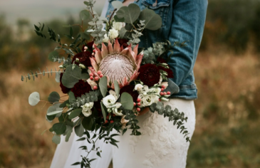 Tropical Vibes (photo credit see note) Wedding Bridal Bouquet