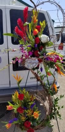 Tropical Vineyard funeral