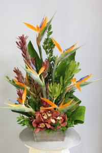 Tropical Wonders Floral Arrangement