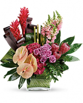 TROPICS BOUQUET Vase Arrangement
