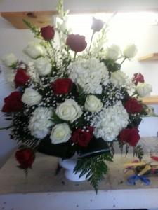 trubute arrangment funeral