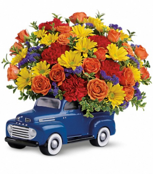 Truck full of love bouquet  Happy Father's Day! in Denver, CO | THE FLOWER DUDE DENVER