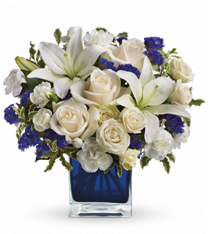True Blue  in Whittier, CA | Rosemantico Flowers