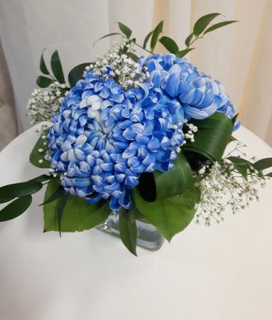 True Blue Table Centerpiece