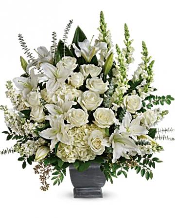 True Horizon Bouquet Funeral Flower