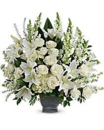 True Horizon Bouquet Sympathy Arrangement