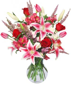 TRUE LOVE BLOOMS Floral Arrangement in Canon City, CO | TOUCH OF LOVE FLORIST AND WEDDINGS