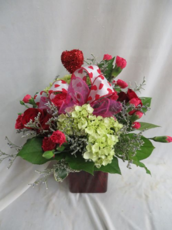 True Love Fresh Mixed Vased Arrangement