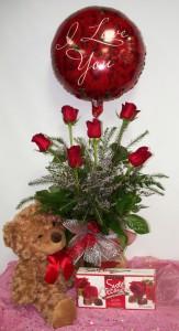 True Love  Rose Arrangement