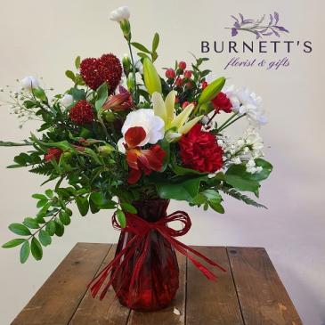 True Love Vase Arrangement