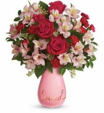 True Lovelies Valentine Bouquet