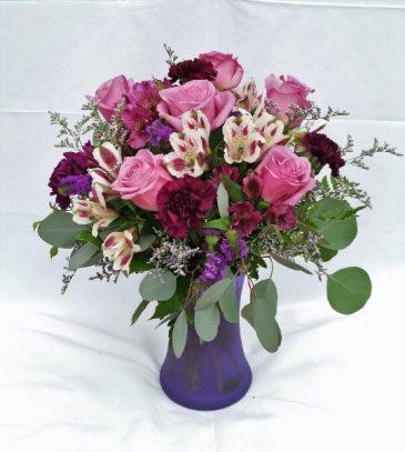 True Passion Vase Arrangement